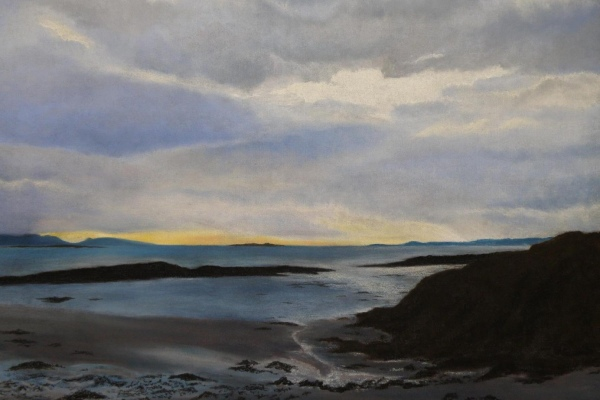 Arisaig-Sunset-pastel.